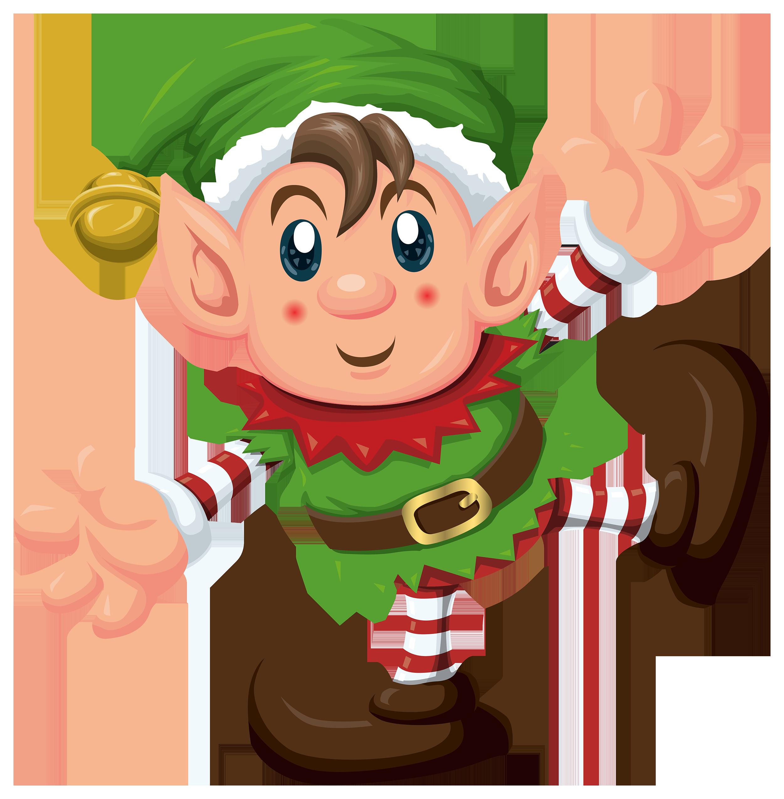 Free Elf Clipart.