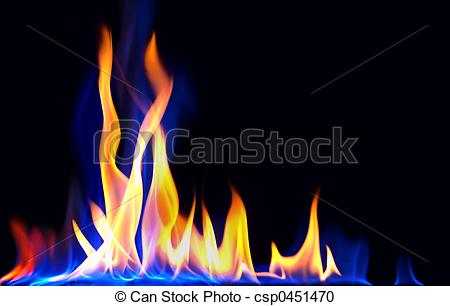 Stock Photography of fire.