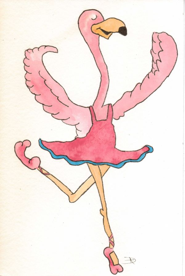 Dancing Flamingo.