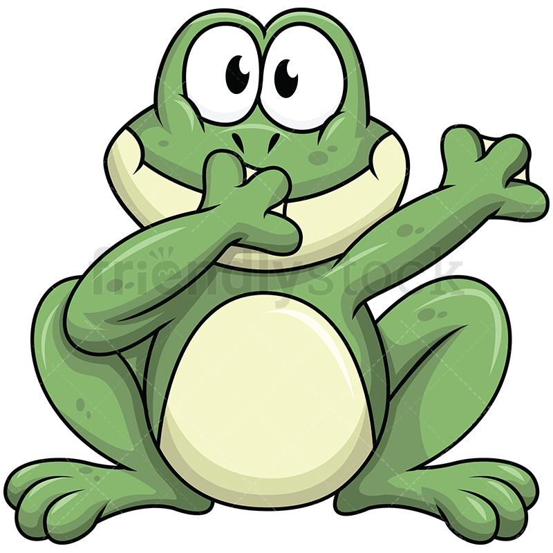 Dabbing Frog.