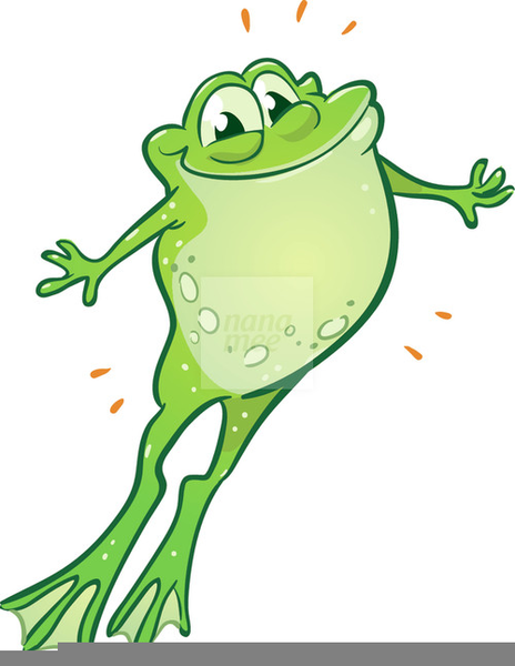 Frogs Dancing Clipart.