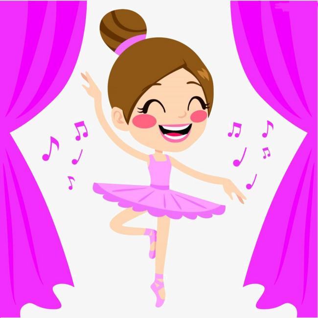 Clipart Girl Dancing.