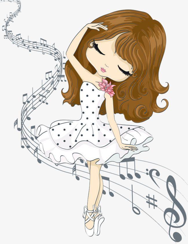 music,Music,dancing,dance,Girls,girl,Cartoon character.