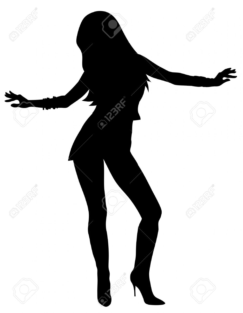 Dancing Silhouette Image at GetDrawings.com.