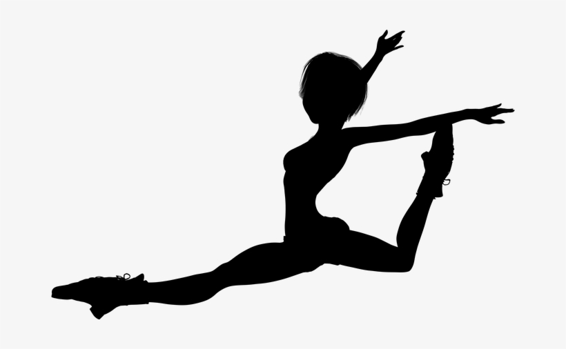 Silhouette, Girl, Jump, Woman Free Pictures, Dance.