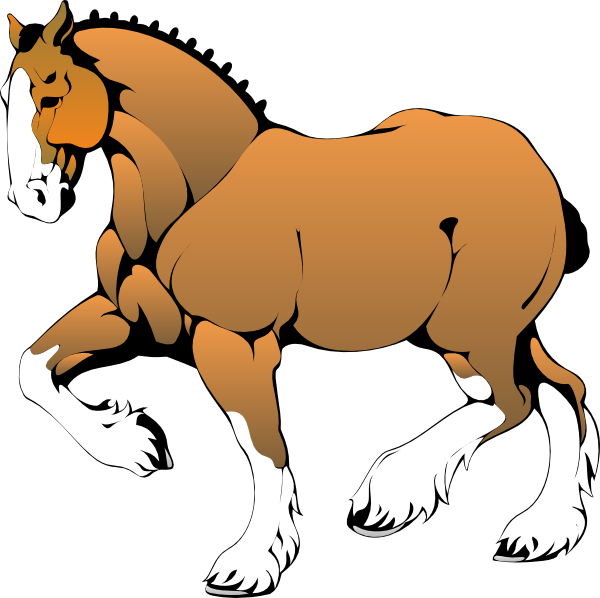 Dancing Horse Clip Art at Clker.com.