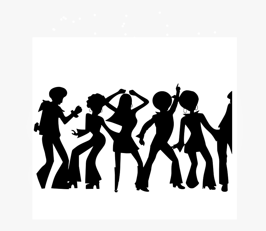 People Partying Clipart.