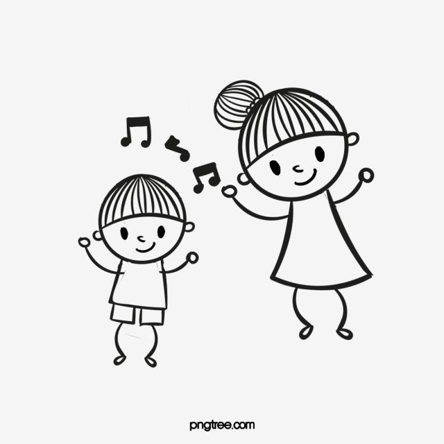 Dancing Kids PNG Images.