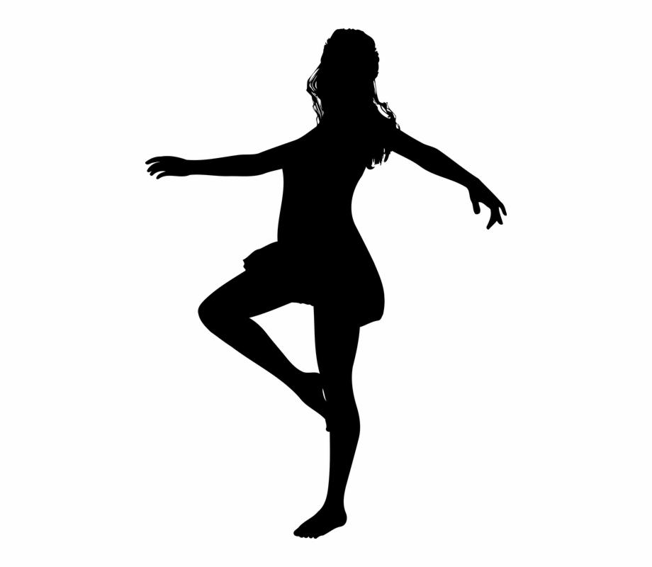 Dance Dancer Dancing Female Girl Silhouette Woman.