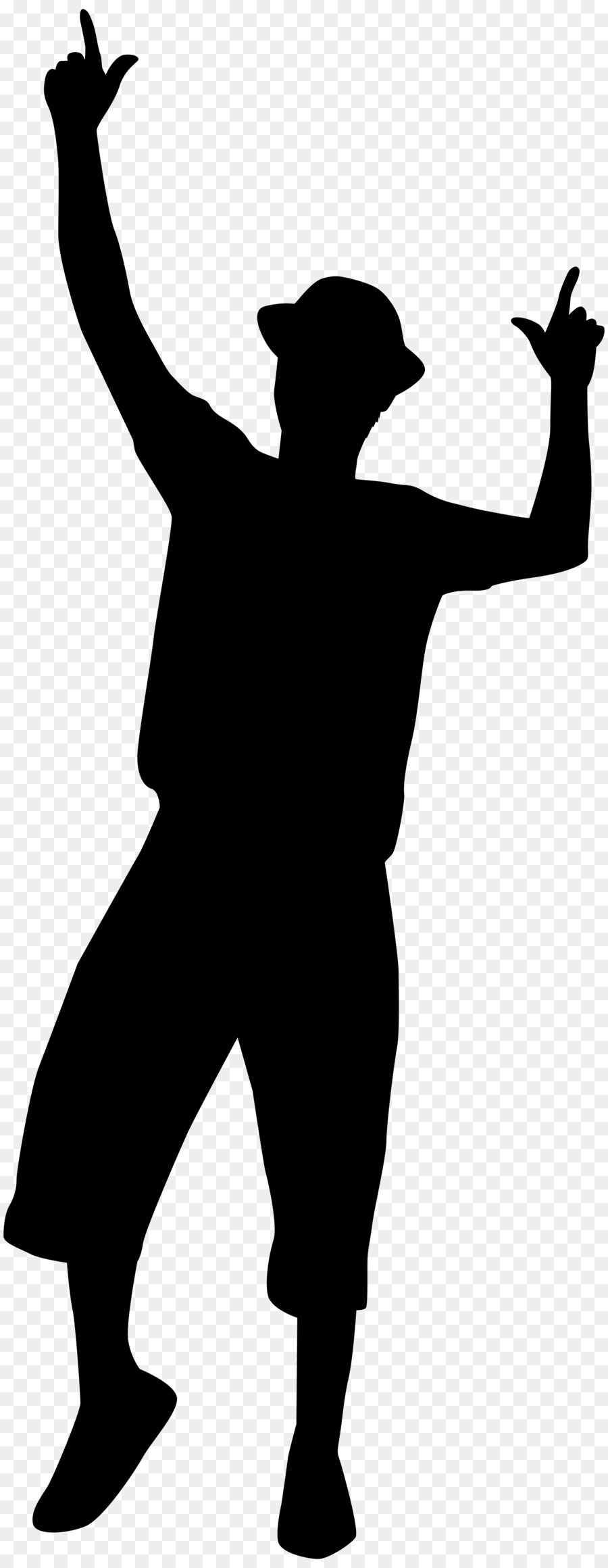 Free Dancing Man Silhouette, Download Free Clip Art, Free Clip Art.
