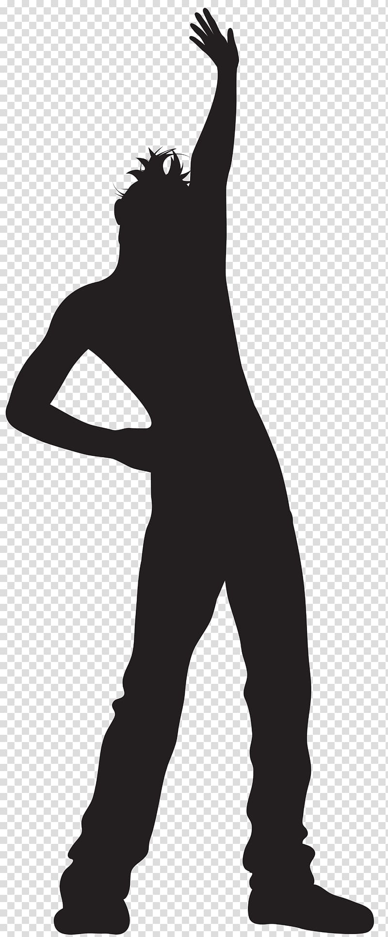 Silhouette of man ], Silhouette Dance , Dancing Man Silhouette.