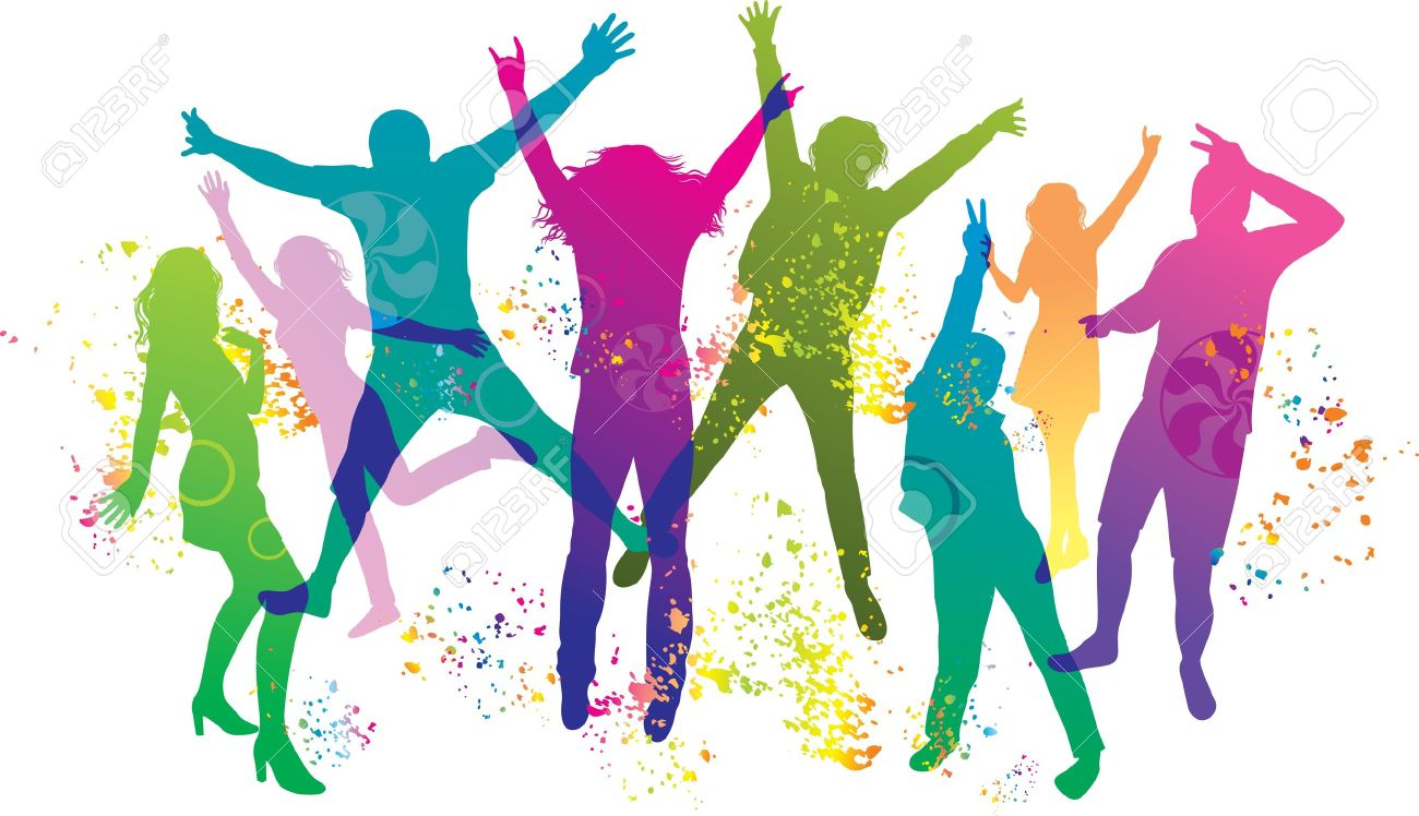 Dancing Party Clipart.