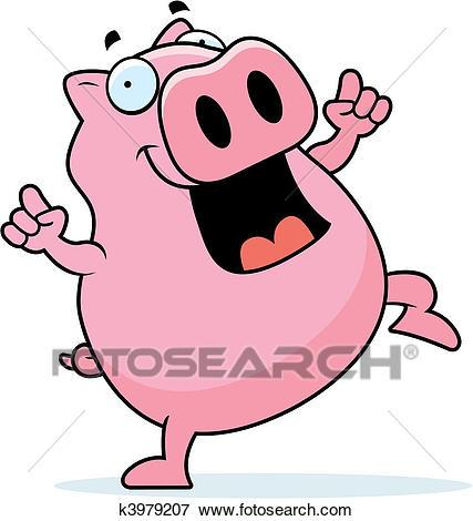 Dancing pig clipart 5 » Clipart Portal.