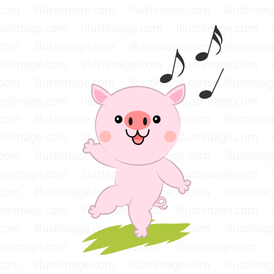 Free Pig Clipart dance, Download Free Clip Art on Owips.com.
