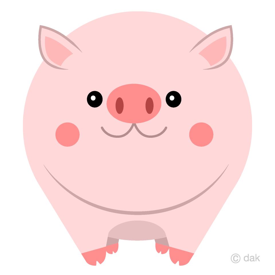 Fat Pig Clipart Free Picture Illustoon.