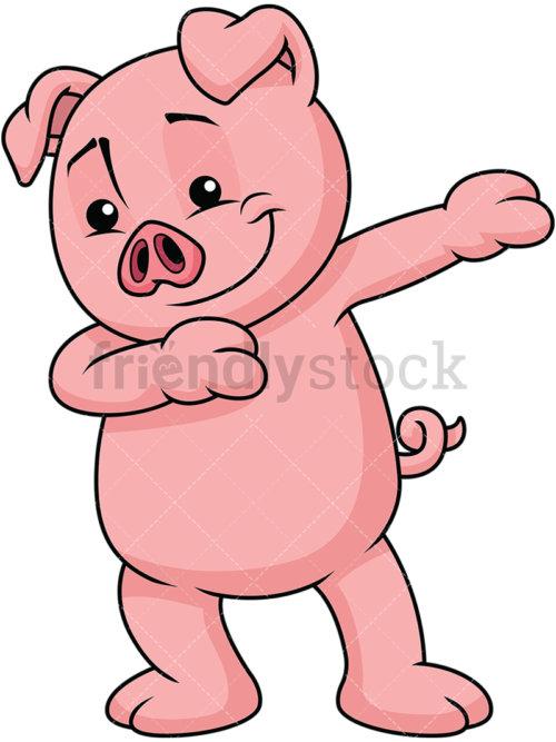 Dabbing Pig.