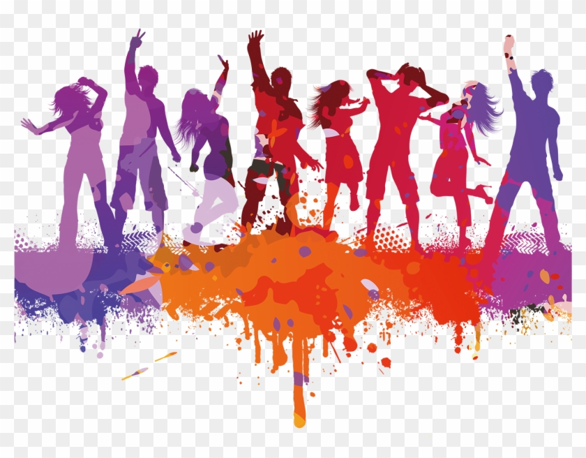 Clipart Library Dancing Transparent Party.
