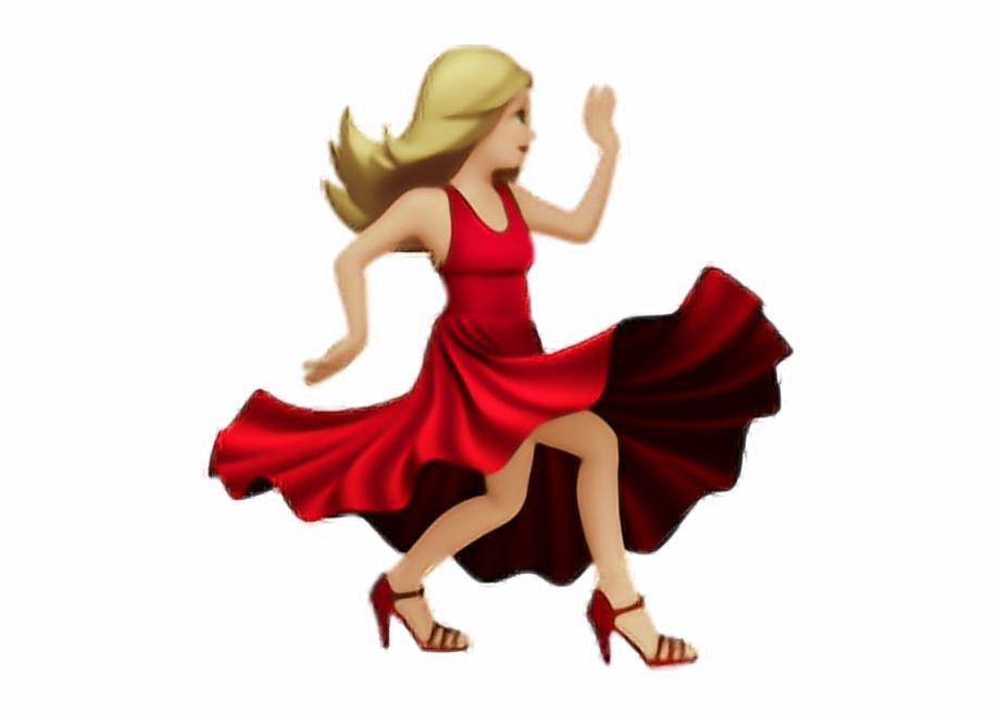 Salsa Dancing Emoji , Png Download.
