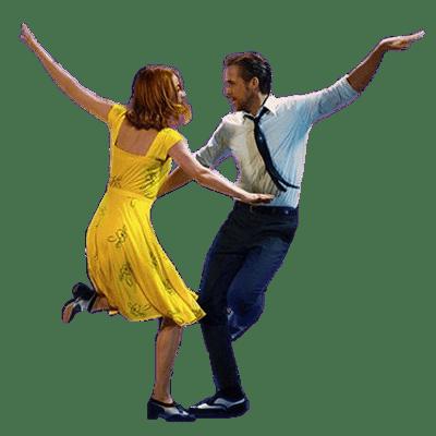 La La Land Dance transparent PNG.