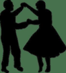 Dancing silhouette clipart 1 » Clipart Portal.