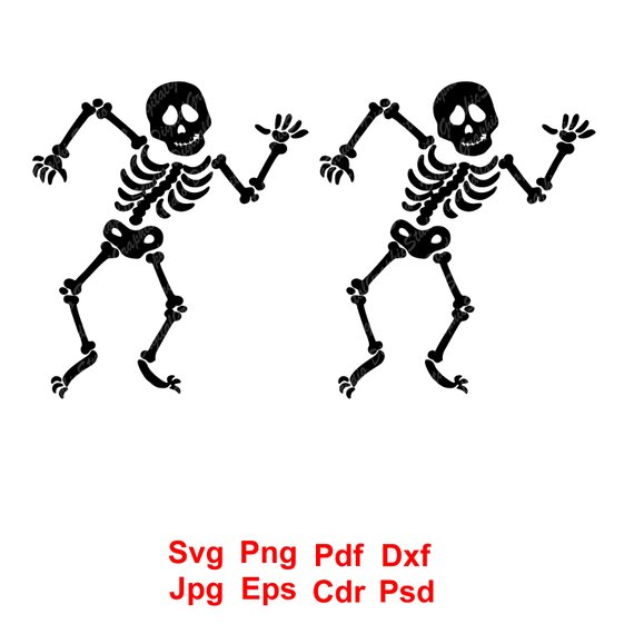 Dancing Skeleton Clipart (96+ images in Collection) Page 2.