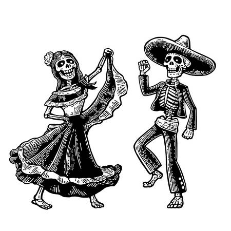 1,250 Dancing Skeleton Stock Vector Illustration And Royalty Free.