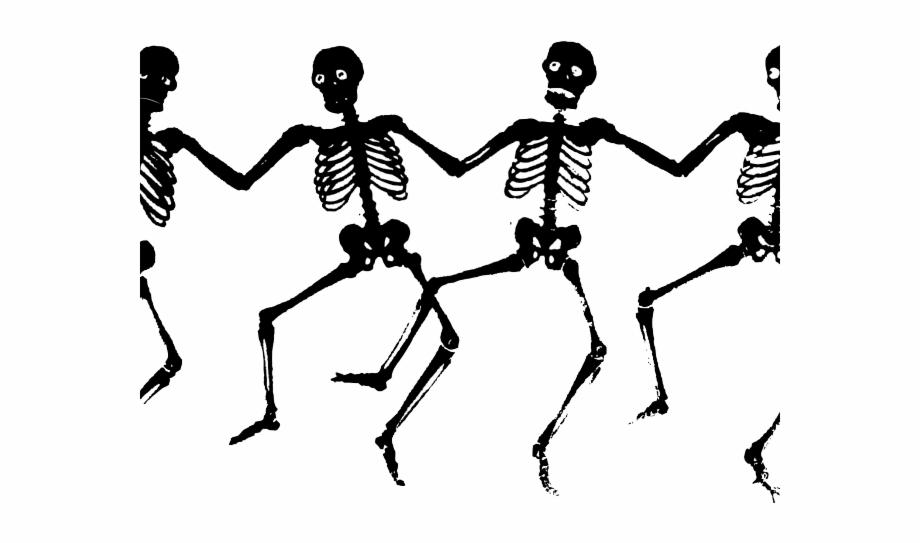 Halloween Clipart Clipart Dancing Skeleton.