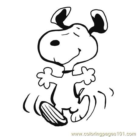 Free Snoopy Clip Art.
