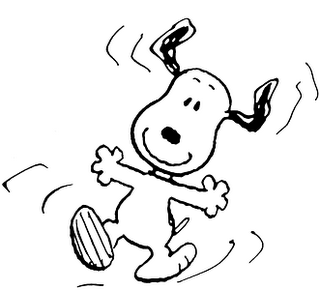 Free Snoopy Clipart dancing, Download Free Clip Art on Owips.com.