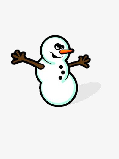Download Free png Cheerful Snowman, Snowman Clipart, Dancing, Long.