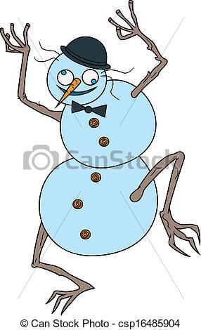 Crazy Snowman.