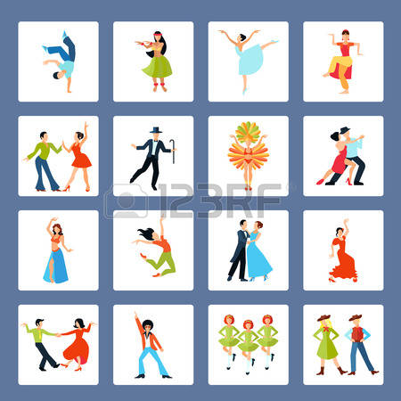 20,799 Dancing Style Cliparts, Stock Vector And Royalty Free.