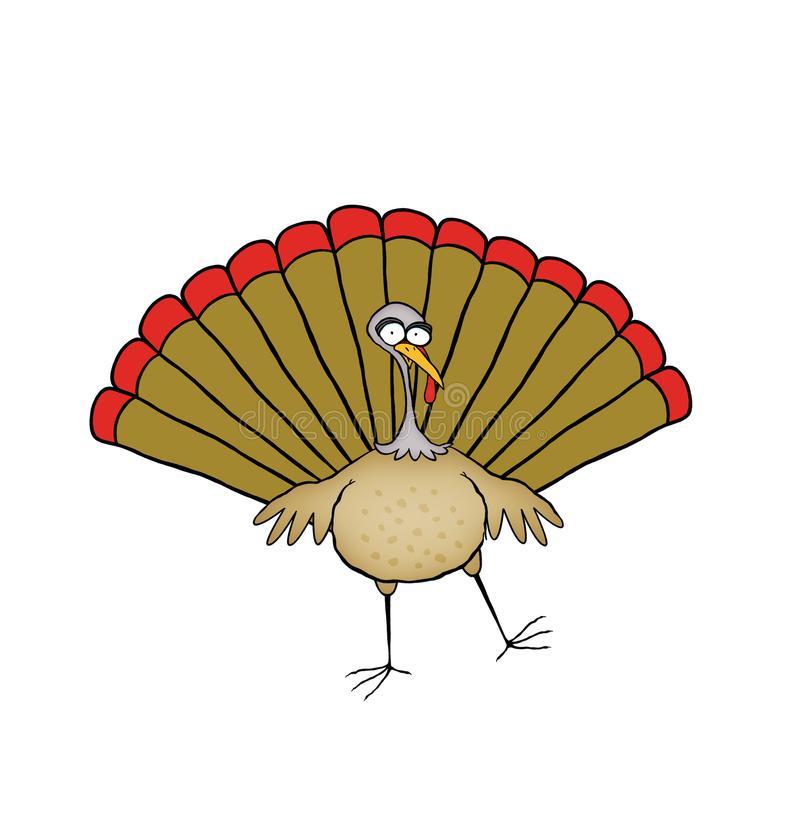 Turkey Dancing Stock Illustrations.