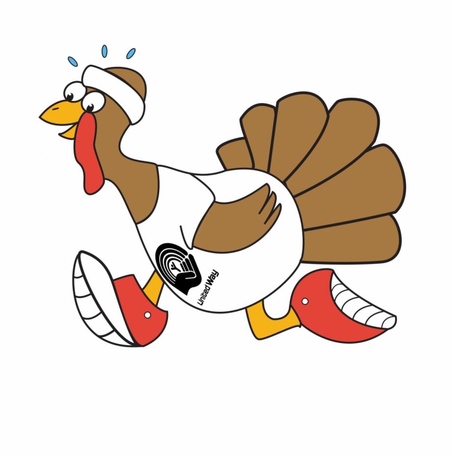 Dancing Turkey Clipart.