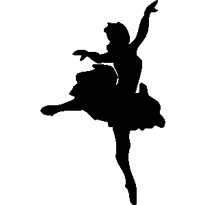 Dancing woman clipart.