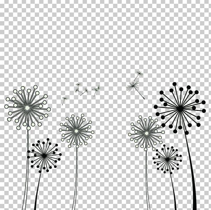 Common Dandelion Taraxacum Platycarpum PNG, Clipart, Black, Black.