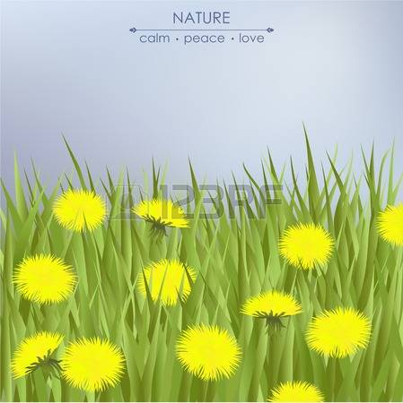 1,289 Yellow Dandelion Cliparts, Stock Vector And Royalty Free.