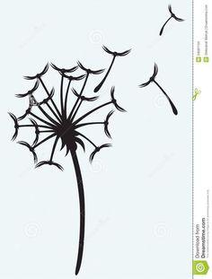 Dandelion Puff Drawing.