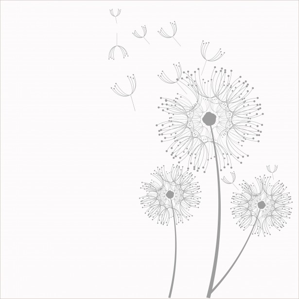Dandelion Flowers Clipart Free Stock Photo.