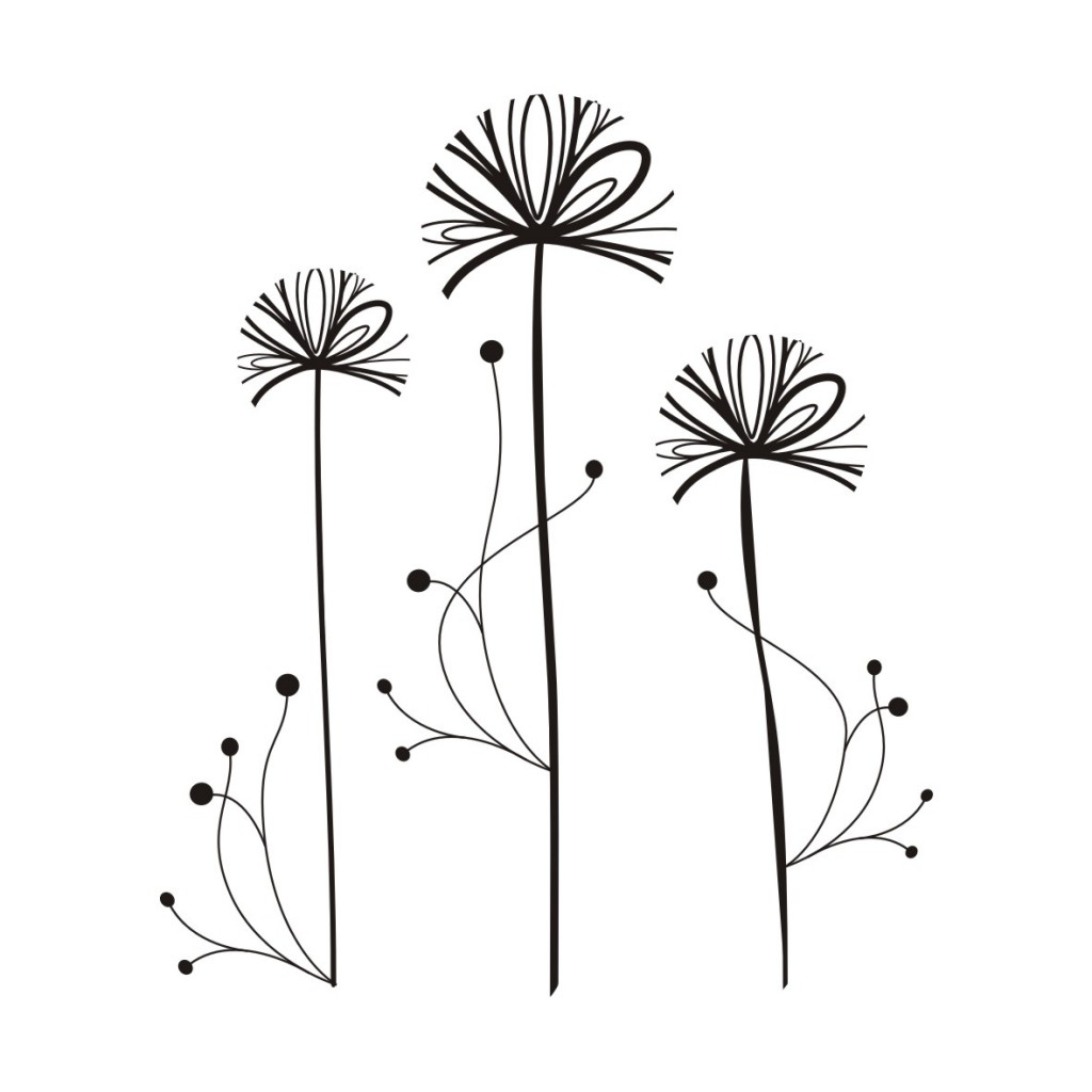 Animated dandelion clipart.