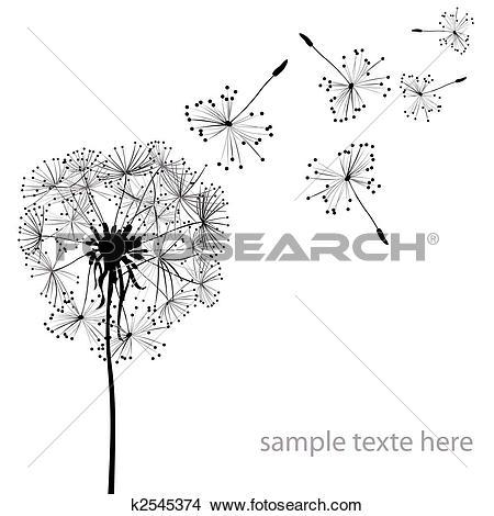Stock Illustrations of dandelions k1083530.