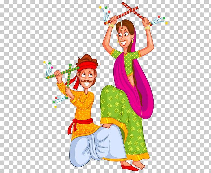Dandiya Raas Garba Dance PNG, Clipart, Art, Costume, Dance, Dandiya.