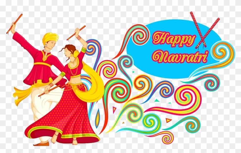 Navratri Dandiya, HD Png Download.