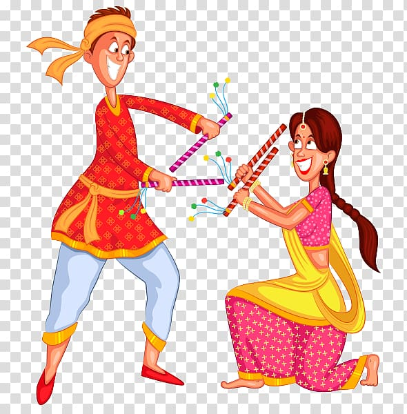 Dandiya Raas Garba Dance , others transparent background PNG clipart.
