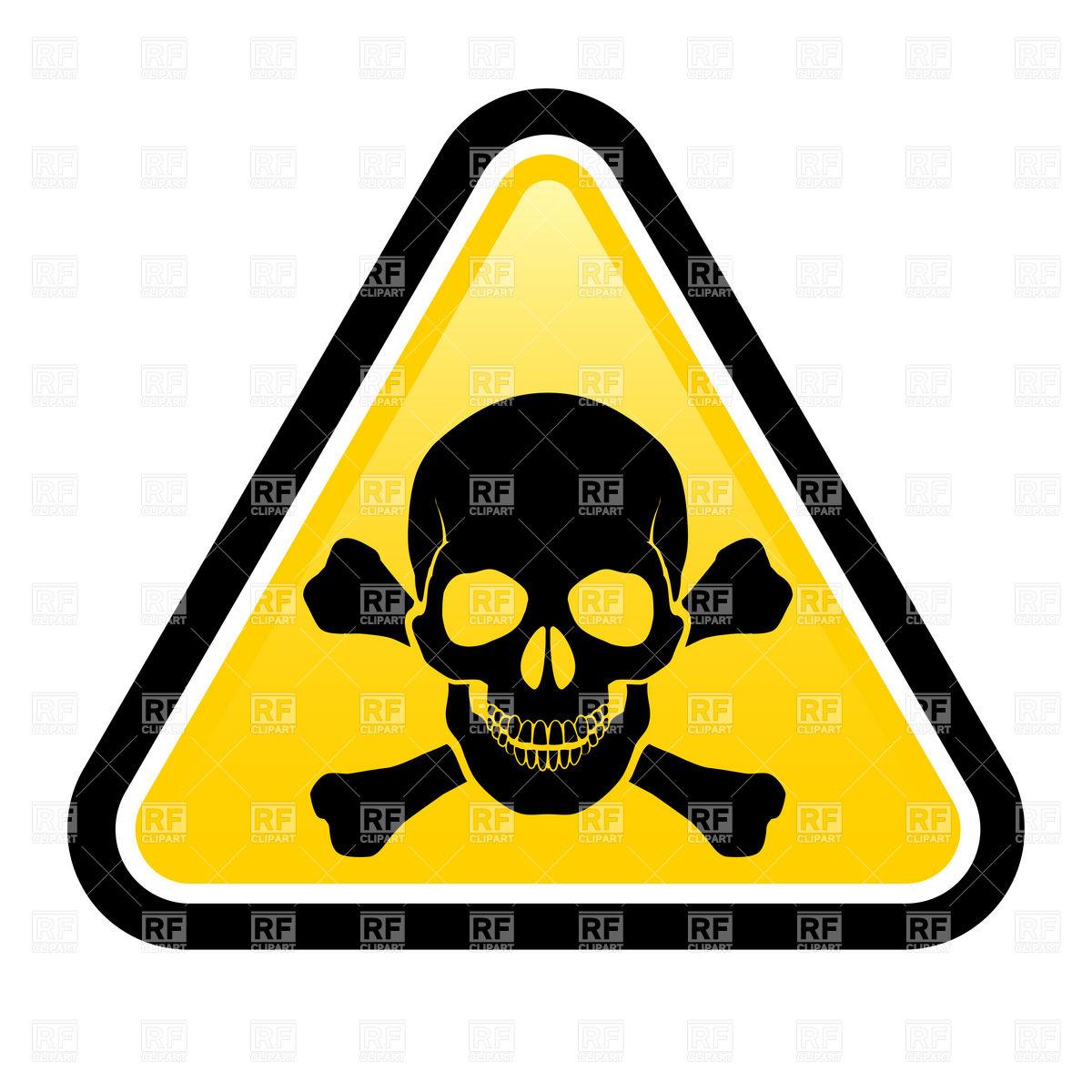 Free clipart danger symbol.