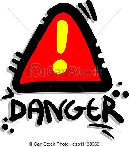 Danger Clipart.