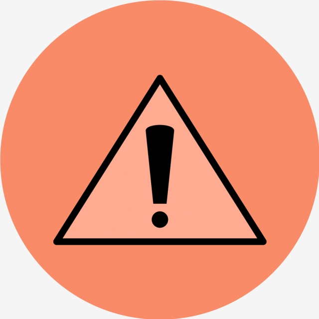 Vector Danger Icon, Alert, Attention, Danger PNG and Vector with.
