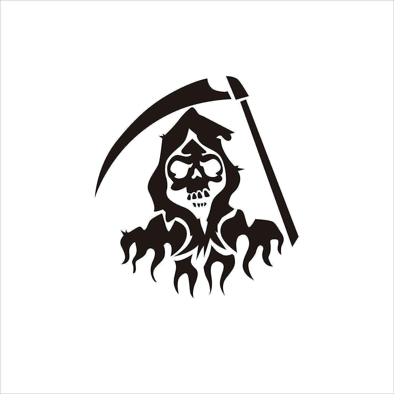 CVANU Danger Logo For Royal Enfield Bullet Sticker.