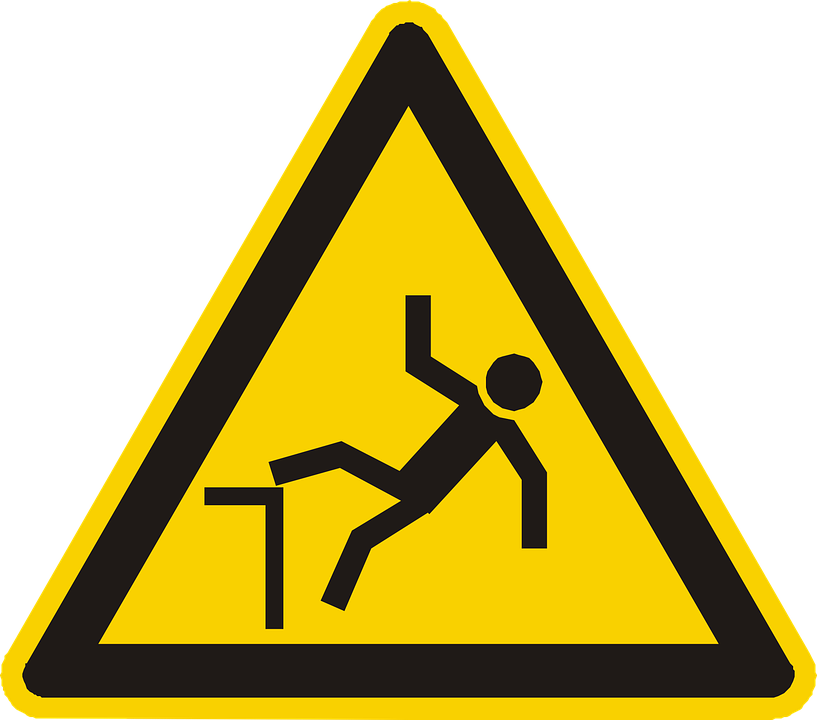 Free vector graphic: Danger Of Collapse, Warning.