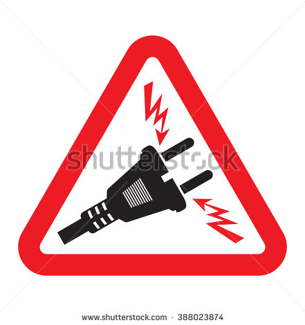 Electricity Danger Of Death Stock Photos, Royalty.